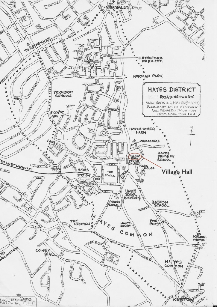 Hayes District Road Network